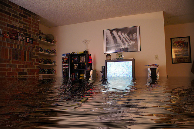 zalane mieszkanie