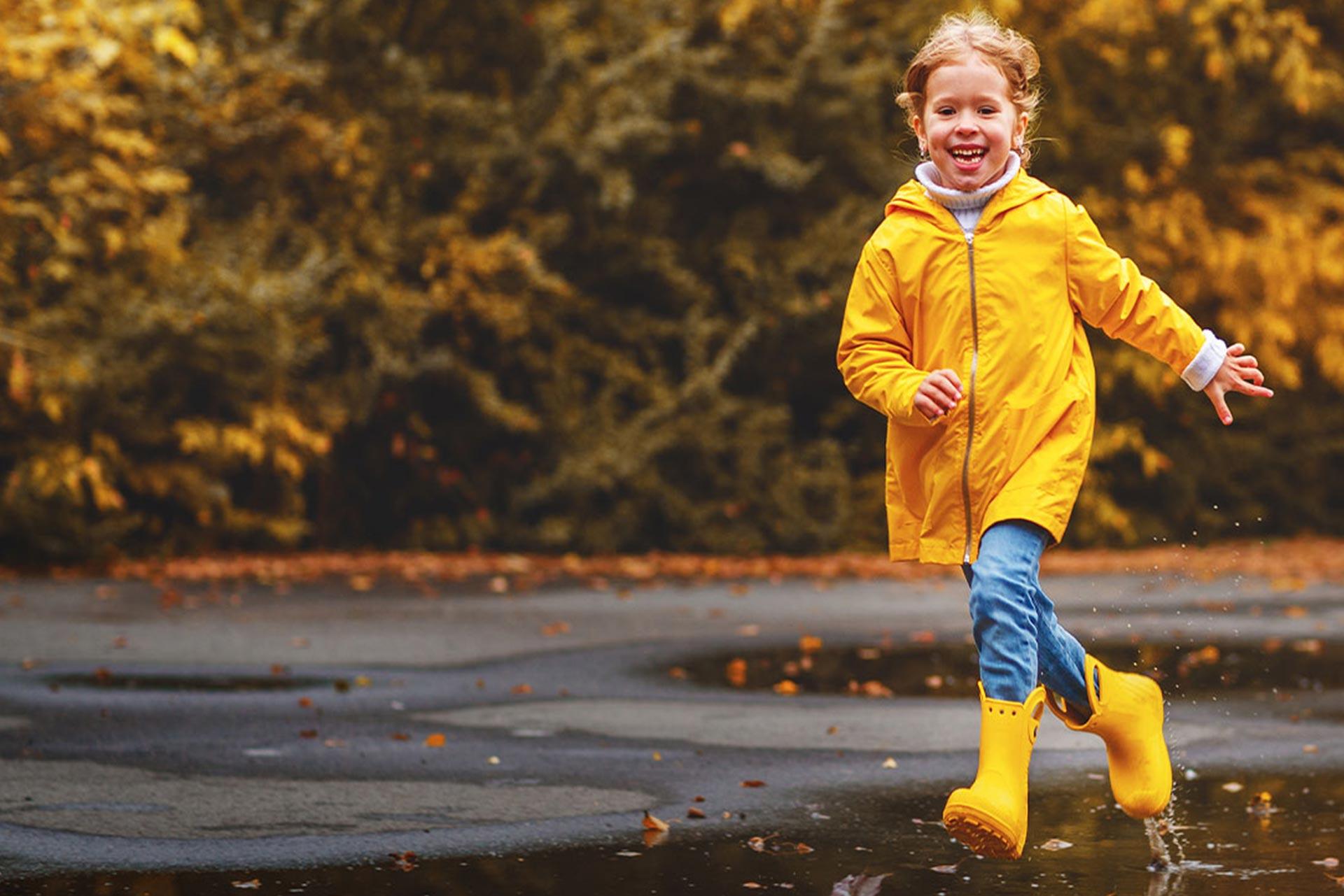 kurtki przeciwdeszczowe dla dzieci